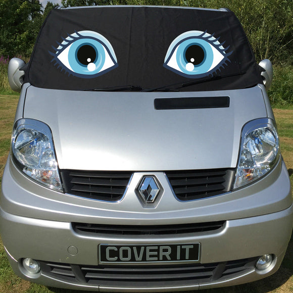 Trafic, Primastar, Vivaro Screen Wrap - Flo Eyes