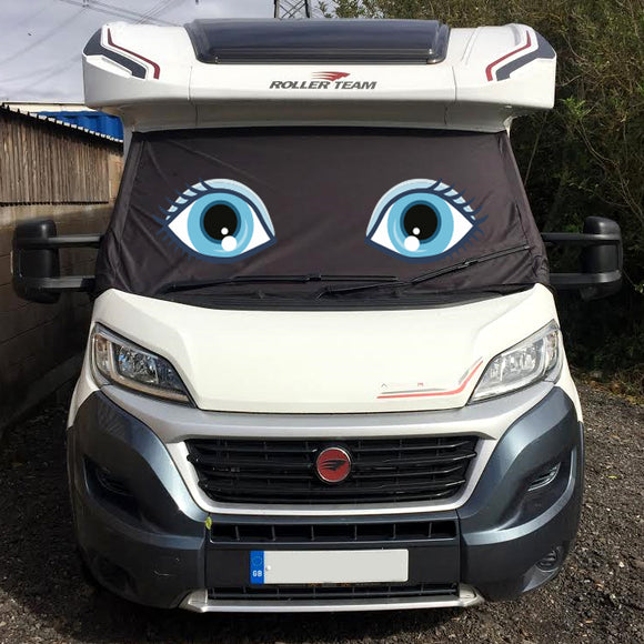 Ducato, Boxer, Relay Motorhome Screen Wrap - Flo Eyes