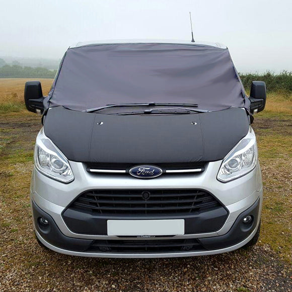 Ford Transit Custom Screen Wrap - Grey Plain
