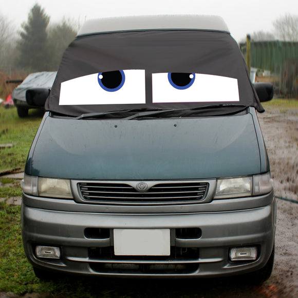 Mazda Bongo Screen Wrap - James Eyes