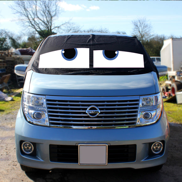 Nissan Elgrand E51 Screen Cover Eyes - James