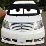 Toyota Alphard Screen Cover - James Eyes