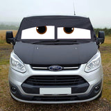 Ford Transit Custom Screen Wrap - James Eyes
