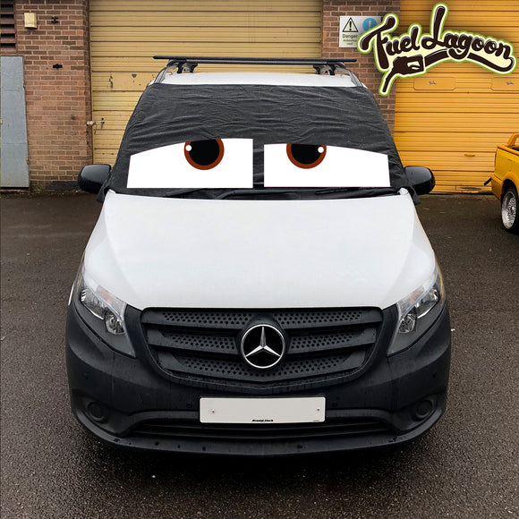 Mercedes Vito 447 Screen Cover Eyes - James