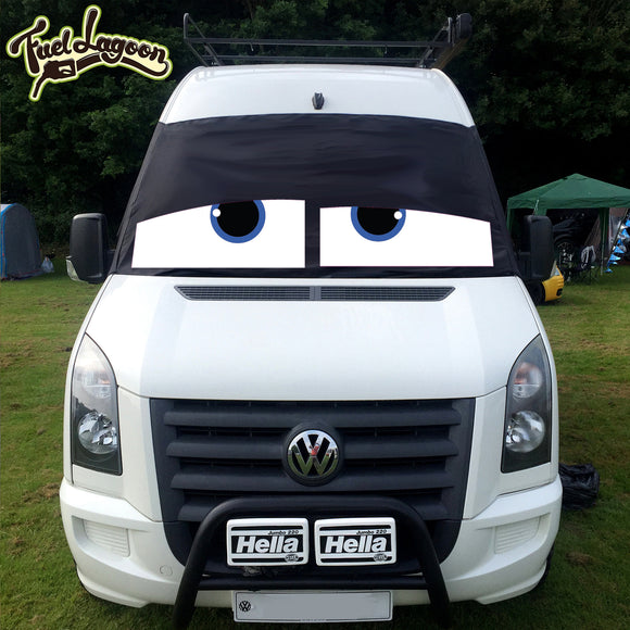 VW Crafter, Mercedes Sprinter Screen Cover Eyes - James