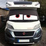 Ducato, Boxer, Relay Motorhome Screen Wrap - James Eyes