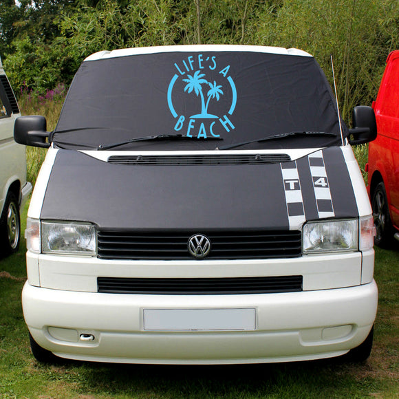 VW T4 Screen Wrap - Life's a Beach
