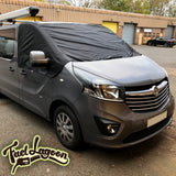 NEW 2015 + Vauxhall Vivaro Screen Cover -  Plain