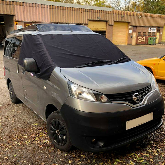 Nissan NV200 Screen Cover - Plain Deluxe