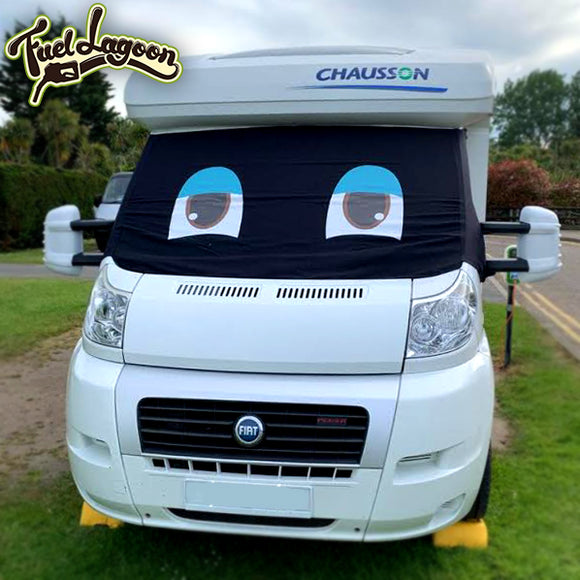 Ducato, Boxer, Relay Motorhome Screen Wrap - Standard Eyes