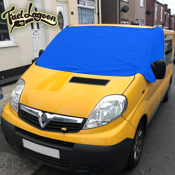 Trafic, Vivaro, Primastar Screen Cover - Blue Deluxe