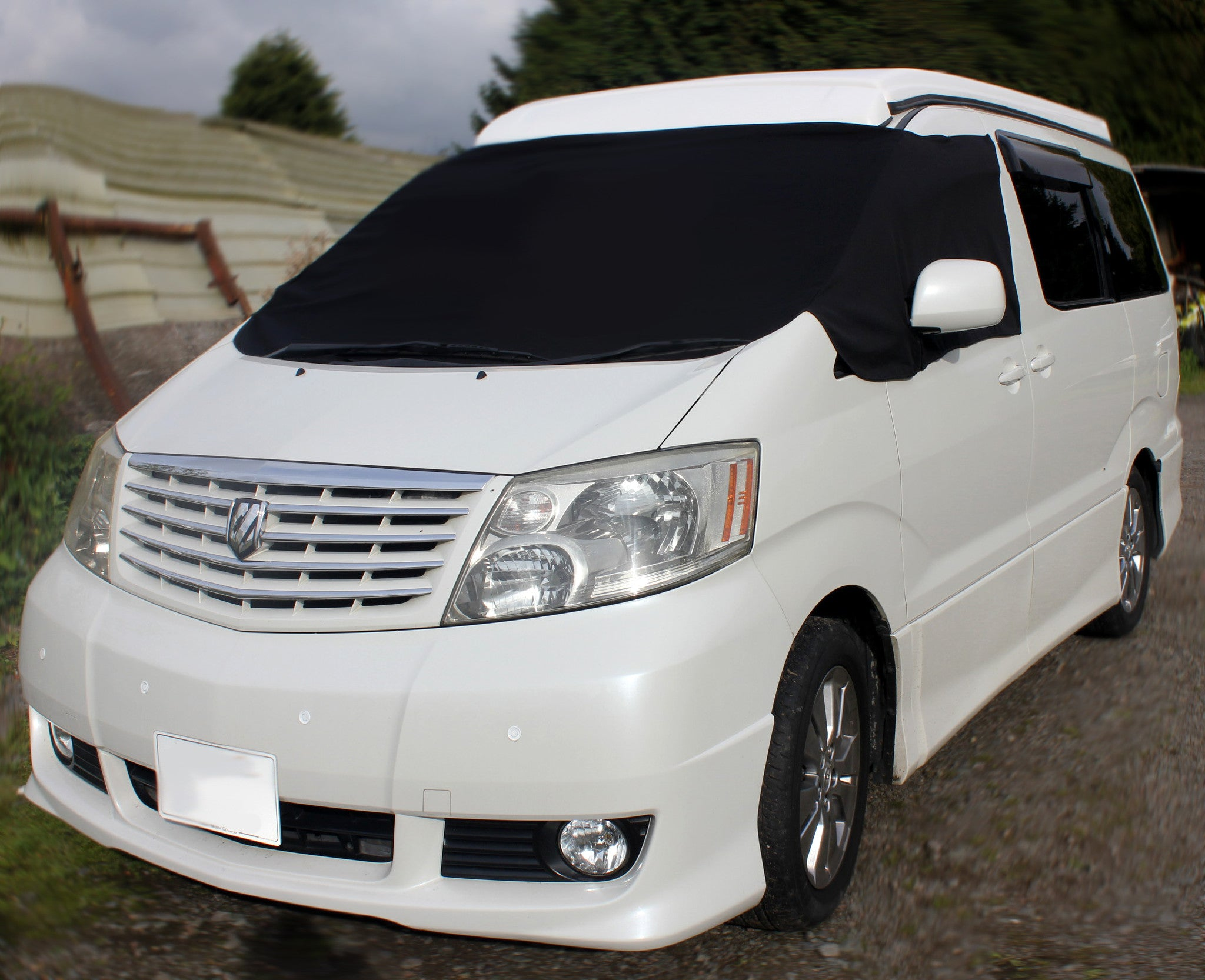 Toyota Alphard Screen Cover - Plain