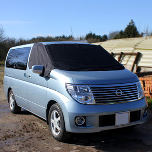 Nissan Elgrand E51 Screen Cover - Plain Deluxe