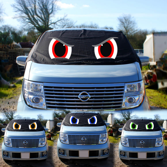 Nissan Elgrand E51 Screen Cover Eyes - Rocky