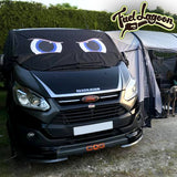 Ford Transit Custom Screen Wrap - Rocky Eyes