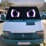 Ducato, Trafic, Talbot Express, J5 Motorhome Screen Wrap 1981-1993 - Rocky Eyes
