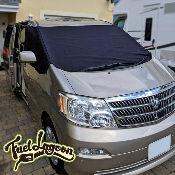 Toyota Alphard Screen Cover - Plain Deluxe