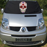 Trafic, Primastar, Vivaro Screen Wrap - Sugar Skull