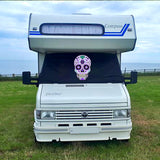 Talbot Express 1981–1993 Screen Cover - Sugar Skull