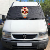 Ducato, Boxer, Relay Motorhome Screen Wrap 1993 - 2006 - Sugar Skull