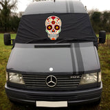 Mercedes Benz Sprinter / VW LT Screen Cover - Sugar Skull