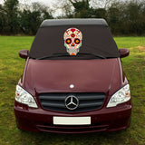 Mercedes Vito W639 Screen Cover - Sugar Skull