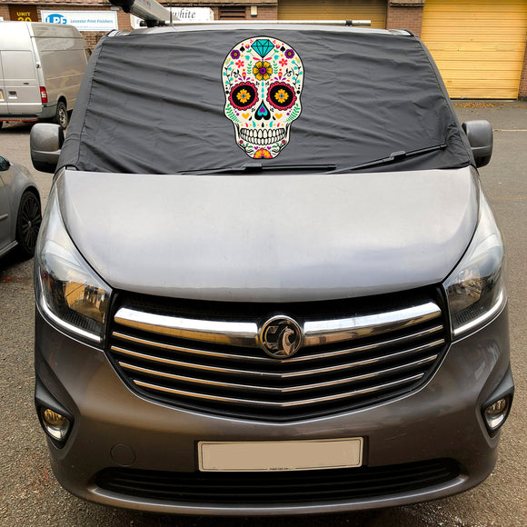 NEW Trafic, Talento, Vivaro, NV300 Screen Wrap - Sugar Skull