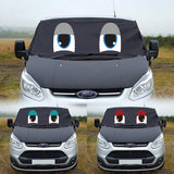Ford Transit Custom Screen Wrap - Standard Eyes