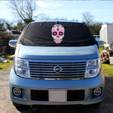 Nissan Elgrand E51 Screen Cover Eyes - Sugar Skull