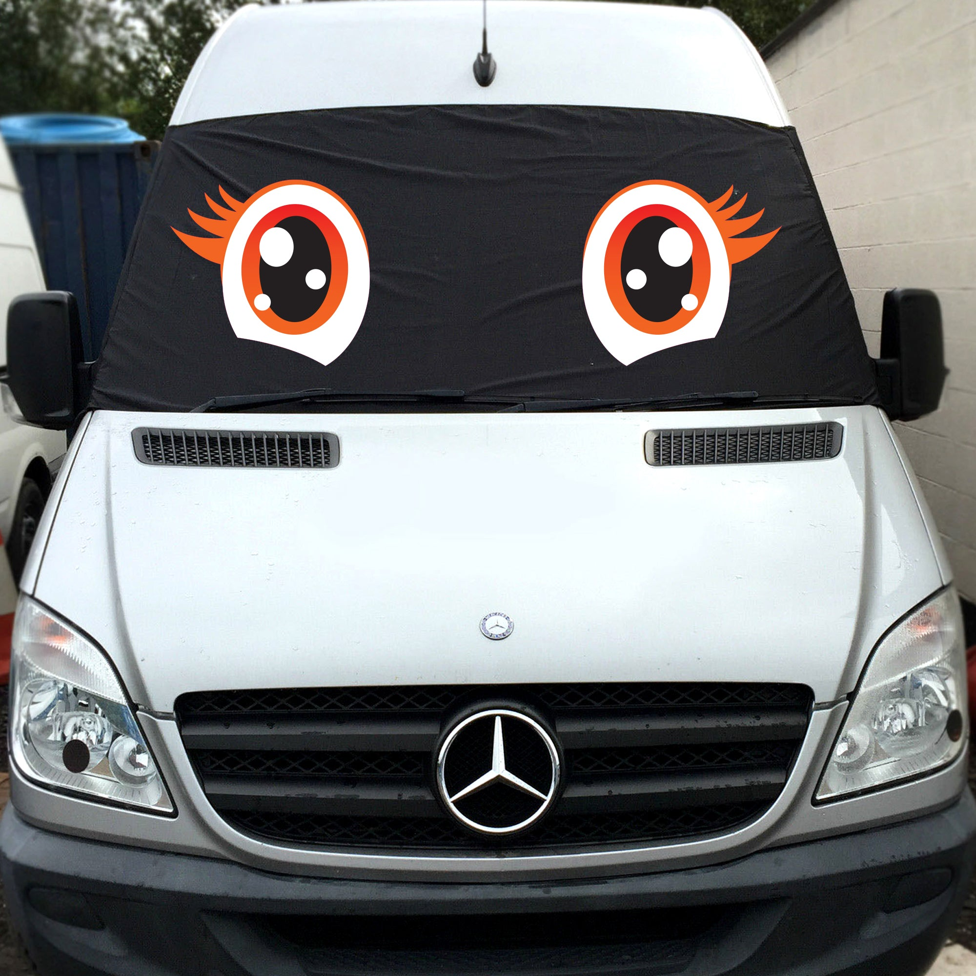 VW Crafter, Mercedes Sprinter (2nd gen) Screen Cover Eyes - Trixie