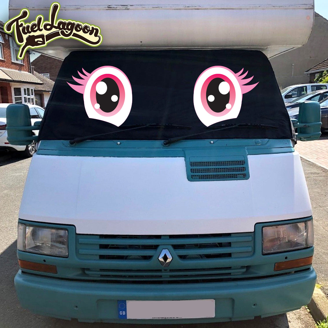 Ducato, Trafic, Talbot Express, J5 Motorhome Screen Wrap 1981-1993 - Trixie Eyes