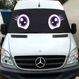 VW Crafter, Mercedes Sprinter Screen Cover Eyes - Trixie