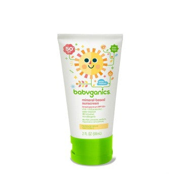 Babyganics Mineral Based Sunscreen Lotion 2 ounce