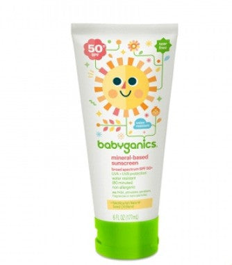 Babyganics Mineral Based Sunscreen Lotion 6 ounce