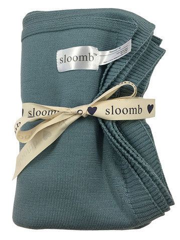 Sloomb Knit Wool Blanket