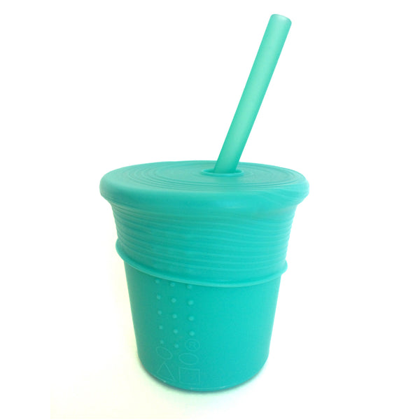 Siliskin Silicone Straw Cup includes one cup, one straw and one top