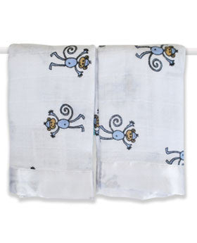 Aden and Anais Issie Security Blanket-2 pack