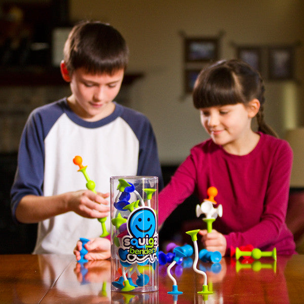 Fat Brain Squigz Sets and Add On Sets for ages 3+