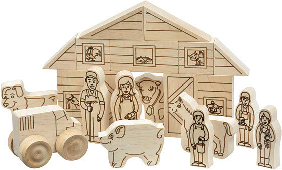 Maple Landmark Farm Play Set