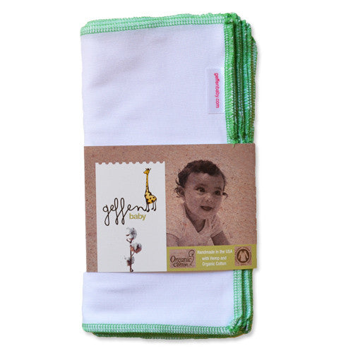 Geffen Baby Hemp/Cotton Wipes-10 pack