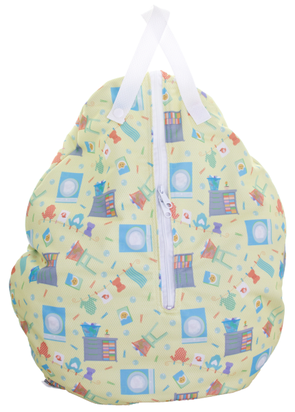 Smartbottoms Hanging Wet Bag and Hooks (Sold Separately)