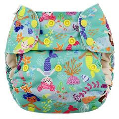 ONE SIZE Blueberry Deluxe Print Pocket