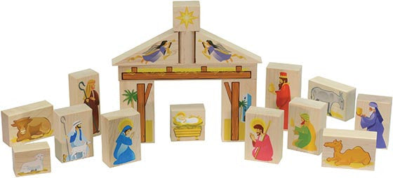 Maple Landmark Nativity Set