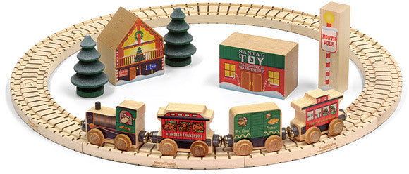 Maple Landmark North Pole Railway Set
