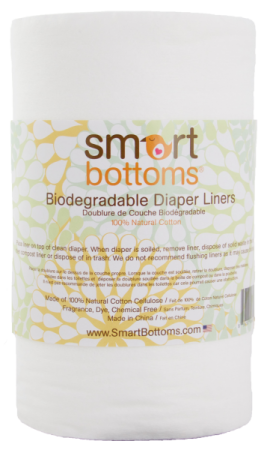 Smartbottoms Biodegradable Diaper Liners