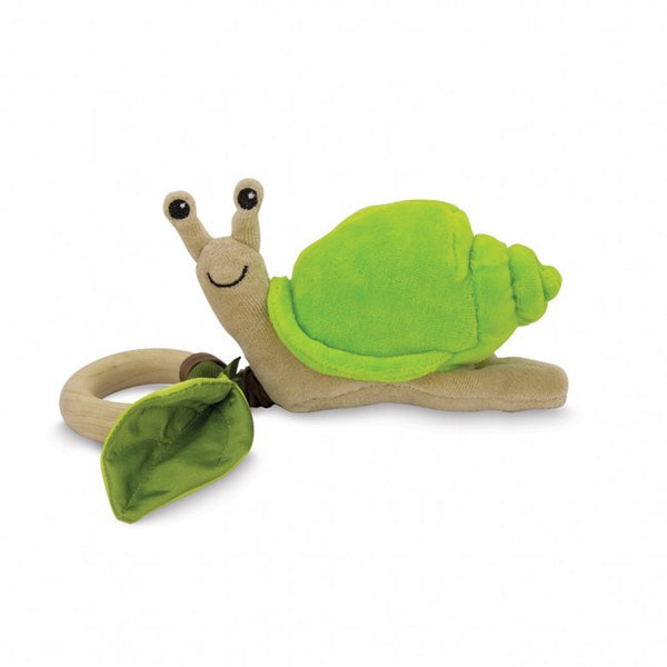 Crawling Snail Teething Toy by Apple Park