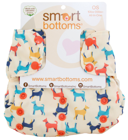 SmartBottoms 3.1 Organic All In One