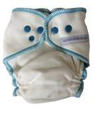 NEW VERSION! Sustainablebabyish Overnight Bamboo Fleece Fitted