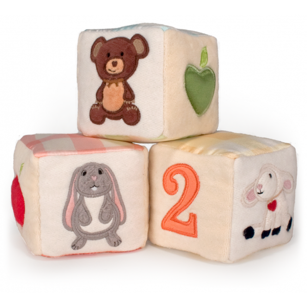 Soft Block Sets by Apple Park Organic Toys
