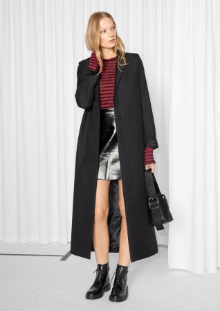 Long maxi coat wool - Mrs Finch, Latest fashion, how to wear styles, celebrity fashion